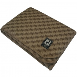 Одеяло из шерсти альпаки и мериноса (Перу)