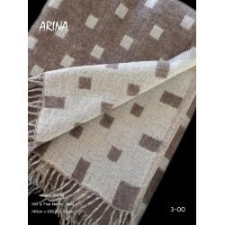 Плед из шерсти австралийского мериноса ARINA 3-00 (Литва)