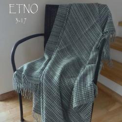 Плед из шерсти австралийского мериноса ETNO 3-17 (Литва)
