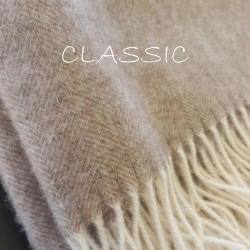 Плед из шерсти австралийского мериноса CLASSIC 7-03 (Литва)