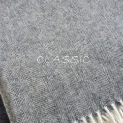 Плед из шерсти австралийского мериноса CLASSIC 7-10 (Литва)