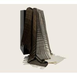 Плед из шерсти альпака и овечьей шерсти Джулиа, арт. 5083 (Дания)