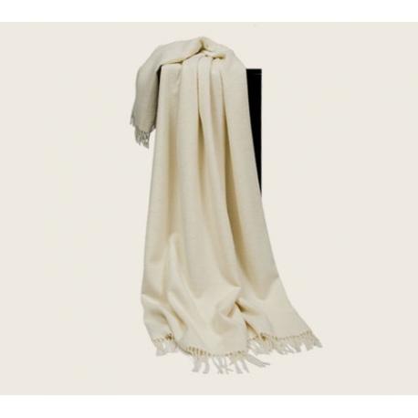 Плед из шерсти альпака и овечьей шерсти Джута, арт. 0100 (Дания)