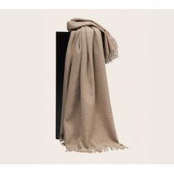 Плед из шерсти альпака и овечьей шерсти Джута, арт. 0208 (Дания)